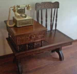 antique gossip bench for sale 108 best vintage telephone tables images on pinterest