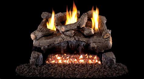 real fyre 24 quot evening fyre ventless propane gas logs set