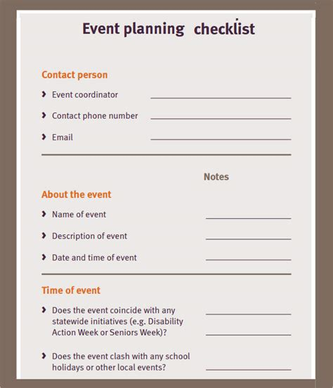 a reunion budget planner free printable party planning checklist