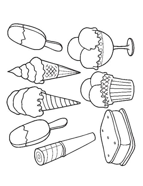 preschool ice cream coloring pages the 25 best ideas about ice cream coloring pages on