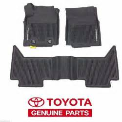 Floor Mats Toyota 2016 2017 Tacoma Floor Mat Liner Rubber All Weather Access