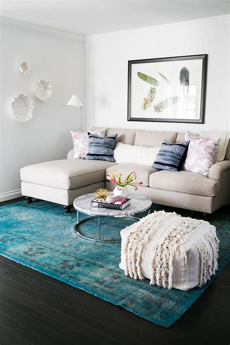 small apartment living room ideas style at home mara ferreira blue accents pillows and