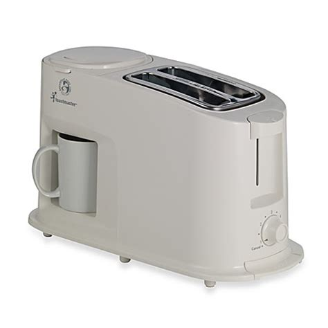 bed bath beyond toaster toastmaster 174 cool touch toaster coffee maker combo bed