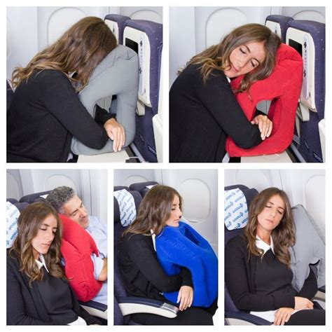 Pillow For Airplanes - this travel pillow may be the end of your sleepless