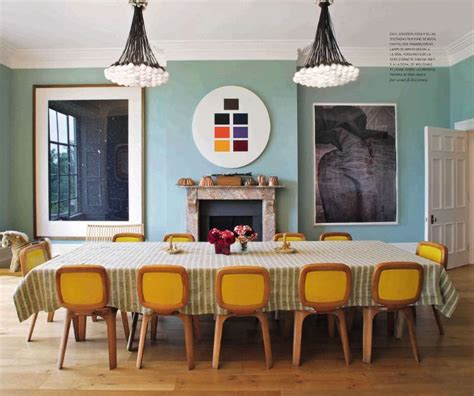 mid century dining room lighting long rectangular dining yellow dining chairs mid