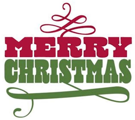 Merry christmas words merry christmas words clipart 4 ... Free Clip Art Christmas Words