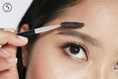 cara membuat alis agar rapi cara membuat alis natural dengan pensil alis female daily