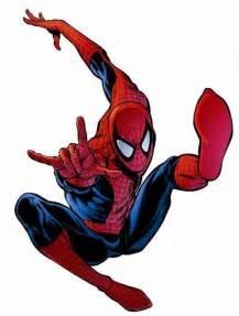 superheroes peter parker spiderman
