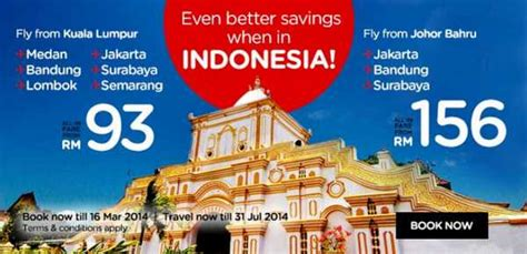 airasia promotion indonesia airasia promotion to indonesia march july 2014