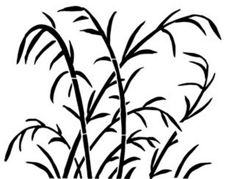 printable grass stencils pattern of printable grass clipart best