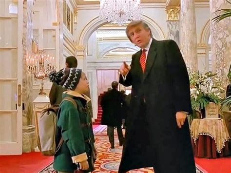 do you that donald featured in quot home alone