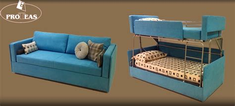 Sofa That Turns Into A Bunk Bed Twinny Morphs Into Bunk Bed Just Like Its Predecessor Coupe Sofa Homecrux
