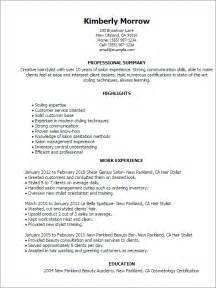sle cover letter for cosmetologist cosmetology resume template resume template and