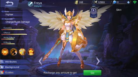 Legend Of Freya freya high damage build mobile legends fourty