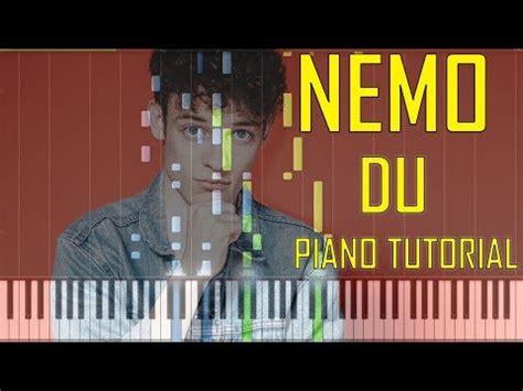 Cober Stopl Nmax Nemo nemo du piano tutorial chords midi