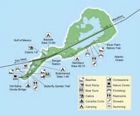 Bahia Honda State Park Map map of bahia honda state park places to go in florida