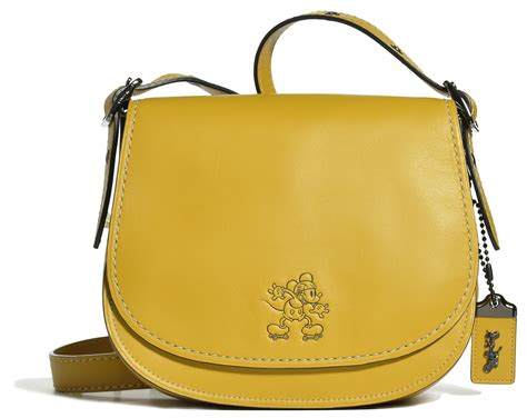 Tas Coach Mickey Ear Yellow coach x disney launched today s mad tea