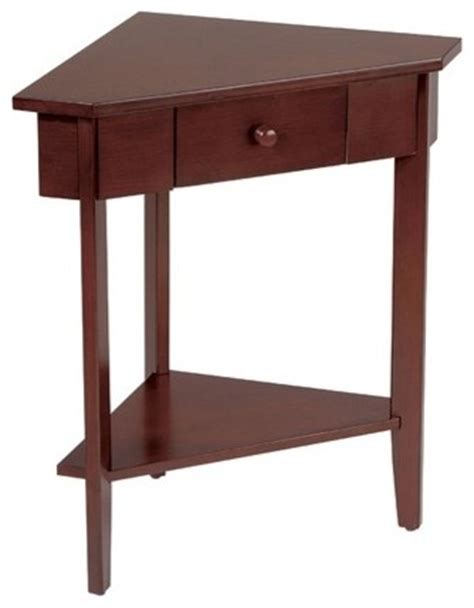 Corner Side Table Corner End Table Modern Side Tables And Accent Tables By Wayfair