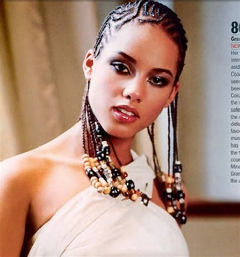 corn row hairstyles for black celebrities top 10 celebrities with stunning cornrow hairstyles