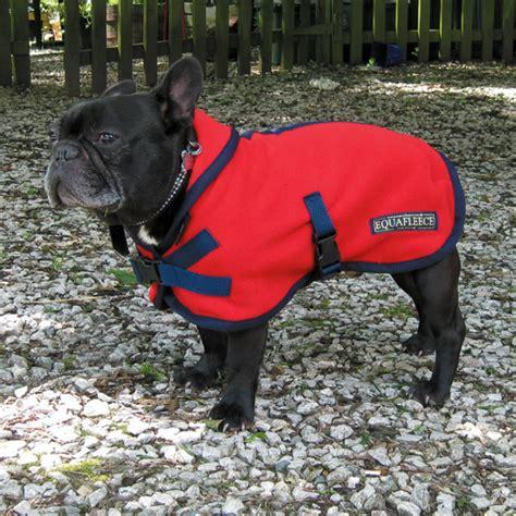 pug puppy coat polartec fleece coat rainproof breathable warm and washable equafleece