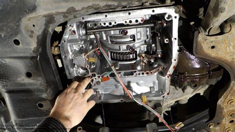 check ball body  spring part location  automatic transmission ue toyota camry youtube