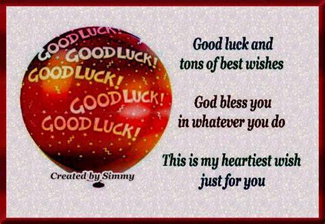 good luck sms