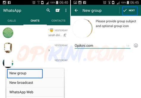 Membuat Grup Kontak Di Yahoo Mail | cara mengelola dan membuat grup di whatsapp android