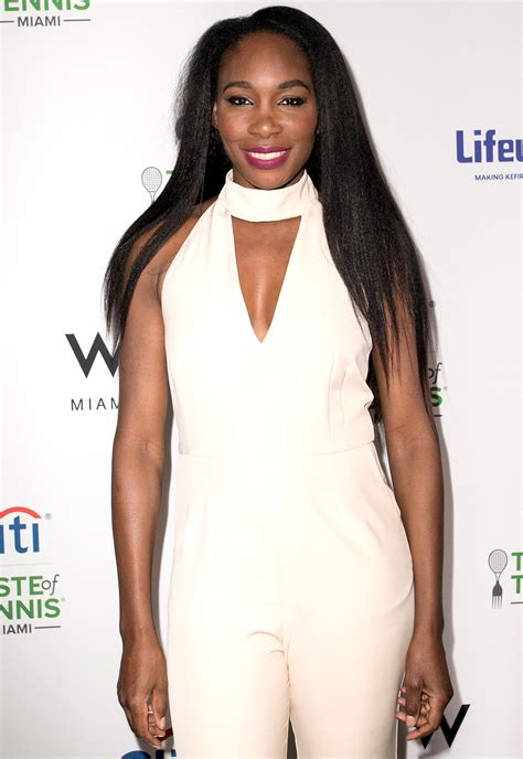 Venus Williams Thrilled for Serena's Engagement And
