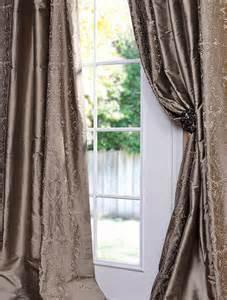 Half Price Curtains And Drapes Chai Silver Thai Silk Curtain Traditional Curtains
