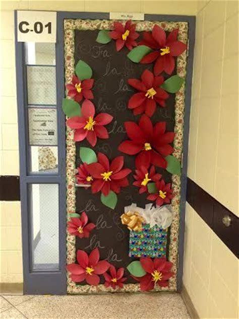 home depot interior doors prehung christmas decorating doors poinsettia and door decorating on pinterest