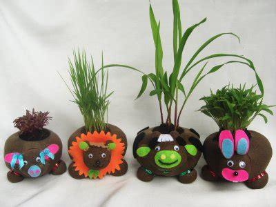 Boneka Horta Pelihara Tumbuh Rumput Asli belajar kreatif berkat boneka horta click your hobby