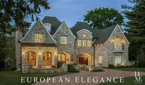 english manor house design luxe homes design build