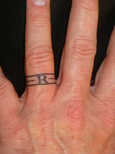 wedding band tattoos for couples 40 of the best wedding ring designs