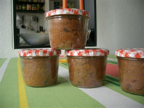 kuchen im glas rezepte backen kuchen im glas sofort nach dem backen schliesen torten