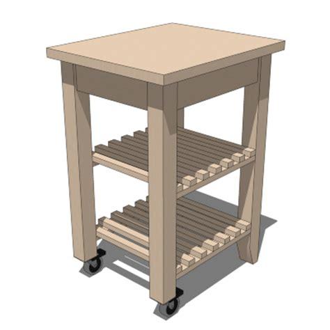 ikea trolley ikea bekvam trolley 3d model formfonts 3d models textures