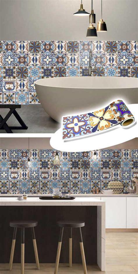 decorare piastrelle decorare con le piastrelle adesive 16 idee per la vostra