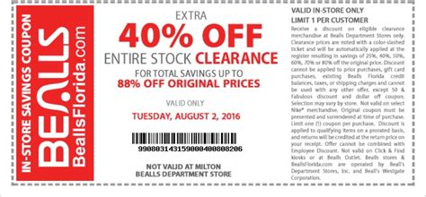 printable coupons bealls outlet tillys printable in store coupons 2018 wilderness