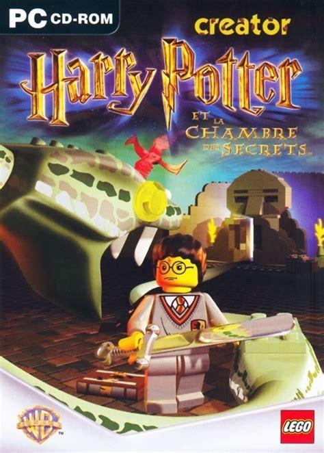 harry potter et la chambre des secrets jeu pc jaquettes lego creator harry potter et la chambre des