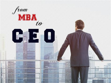 Is An Mba by Is An Mba Education Necessary To Become The Ceo Fyi