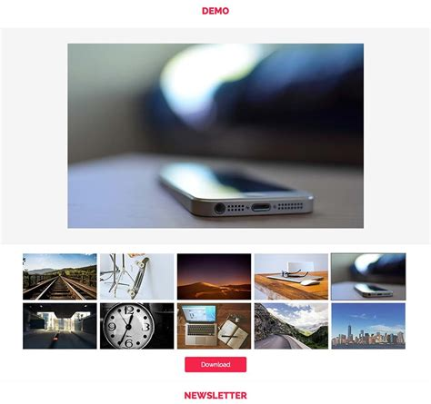 tutorial javascript photo gallery jquery grid tutorial phpsourcecode net