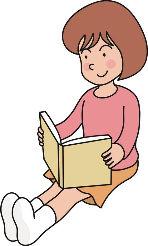 read clipart clipart reading book