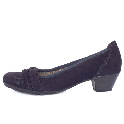 gabor tyne s smart casual low heel shoes in dressy