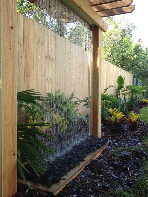 rain curtain water feature rain curtain water feature yelp