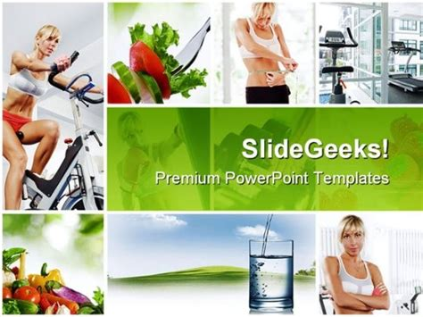 Collage Health Powerpoint Themes And Powerpoint Slides Powerpoint Photo Collage Template