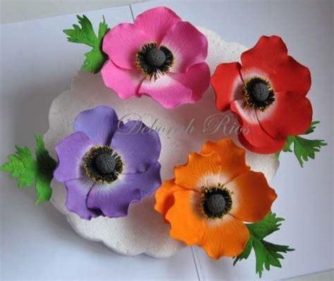 anemone edible 30 best fondant anemones images on pinterest gum paste