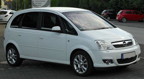 opel cosmo file opel meriva a 1 8 cosmo facelift front 1 20100716 jpg