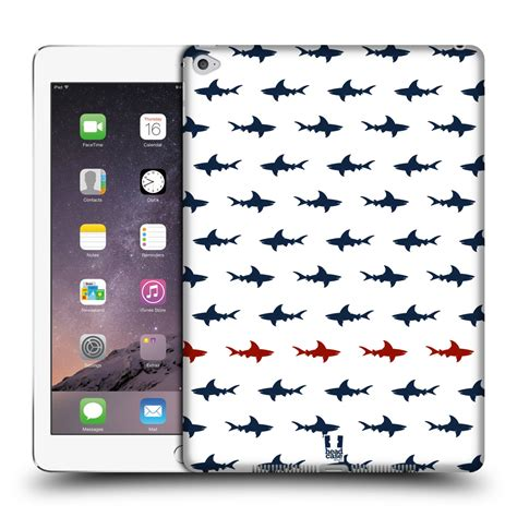 design poster on ipad head case designs shark prints hard back case for apple