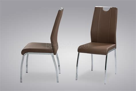 chaise métal chaise de table a manger en cuir ciabiz com