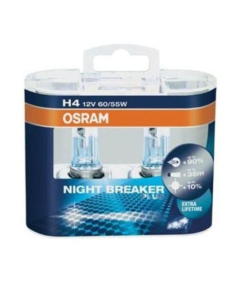 Lu Mobil Osram Breaker Osram Breaker Plus Headlight Bulbs Bulb H4 Buy