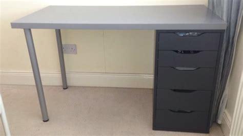 grey desk with drawers grey desk with drawers for sale in bettystown meath from